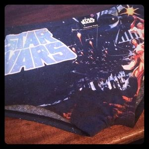 Star Wars Blue May the Force Be With You Boyshorts